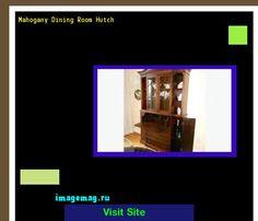 Mahogany Dining Room Hutch 162825