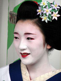 June- Gardenia Kanzashi