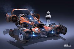 """Axiom Jet Racer"" by Igor Sobolevsky"