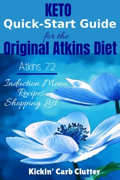 Keto quick-start guide to the original atkins diet - atkins 72 - get an induction menu, recipes, and a shopping list to make your first week easy and simple Induction Recipes, Atkins Diet Recipes Phase 1, Atkins Recipes, Keto Recipes, Quick Recipes, Dinner Recipes, Zero Carb Diet, No Carb Diets, Low Carb