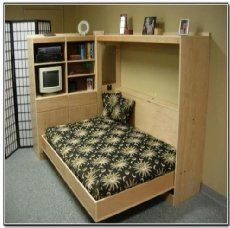 Has a small bedroom and need more space? Save space in a small bedroom with a Murphy bed from IKEA.