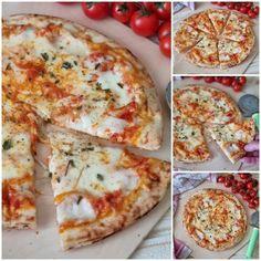 Pizza, Semi, Cheese, Pane, Food, Kitchens, Essen, Meals, Yemek