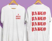 Feel like pablo Kanye tshirt the life of pablo kanye west shirt, yeezus tshirt…