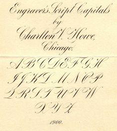 Engraver's Script | IAMPETH site