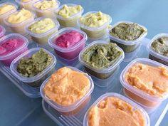 Homemade baby food combination ideas by jenloveskev, via Flickr