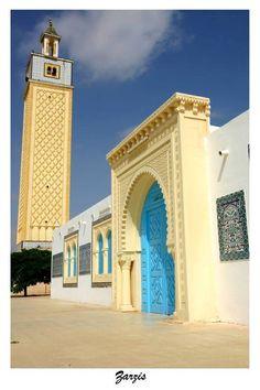 Zarzis – à Tunisie.
