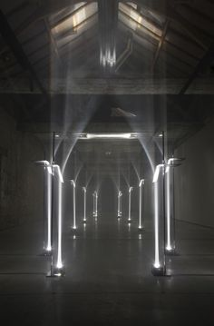 Arcades by Troika... Creating architecture with light... I love it!