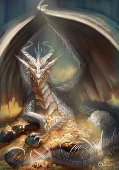 This is my old friend, a dragon that I did in pencil in 2012 as the previous one. Old Friend Dark Fantasy Art, Fantasy Artwork, Fantasy World, Mythical Creatures Art, Magical Creatures, Fantasy Creatures, Rpg Cyberpunk, Cool Dragons, Dragon's Lair