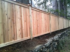 Westchester I Wood Privacy Fence