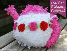 Making your own pinatas is fun, easy, and messy so the kids love it! We created this tea pot pinata to match the girl's tea party featured HERE. Here's how to do it yourself: First, blow up a balloon and make a paste with flour and water. There are plenty of recipes out there for … … Continue reading →