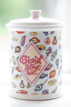 Sweet Blond bath line by Blond-Amsterdam Blond Amsterdam, Happy Colors, Candyland, Sweet, Bath Time, Cutlery, Beautiful Things, China, Illustrations