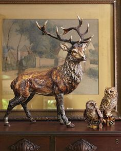Jay Strongwater Stag Figurine