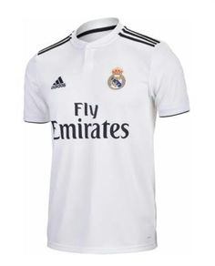 Real Madrid T-Shirt White Jersey Mens Short Sleeve Champions League 2018 2019   43045860f