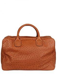 Volo Ostrich Bag - Lyst
