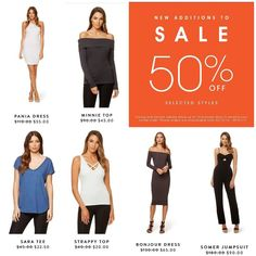 #Kookai have added now stock to their #halfprice sale. Check it out online or on instore.  #ladiesfashion
