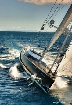 Lang Walker draws on his years of experience building the Kokomo series to detail his philosophy for building world-class luxury yachts. Yacht Design, Boat Design, Luxury Sailing Yachts, Love Boat, Photos Voyages, Yacht Boat, Sail Away, Wooden Boats, Tall Ships