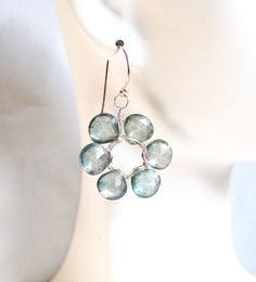 Beautiful AAA Mystic Green  quartz heart by ferozasjewelery, $55.00