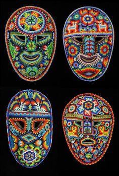 a origem da máscara