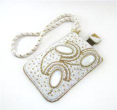 Beaded Embroidery phone case Cheholchiki for telefonchiki