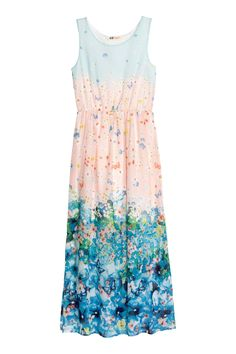 Patterned chiffon dress | H&M