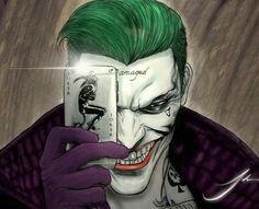 Joker Card Tattoo, Joker Drawings, Art Drawings, The Man Who Laughs, Leto Joker, In The Pale Moonlight, Joker Dc, Stoner Art, Batman Vs