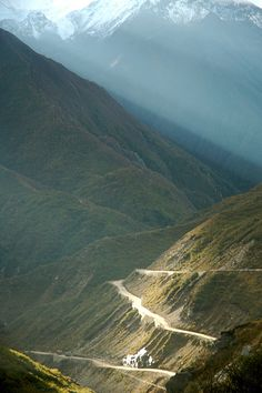 The Friendship Highway from Tibet to Nepal by iancowe, via Flickr