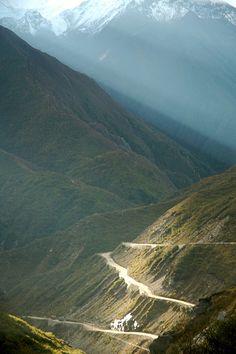 The Friendship Highway from Tibet to Nepal  #visitNepal #travelNepal #tourismtorebuild #traveltohelp #travel #tour #trek #Nepal #3TN email:info@3tnepal.com