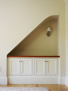 Using under stair space
