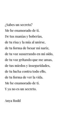 Enamorada, pero shhh is part of Healthy Relationship quotes So True - Healthy Relationship quotes So True Amor Quotes, Poetry Quotes, Words Quotes, Quotes For Him, Love Quotes, Inspirational Quotes, Spanish Quotes Love, Love Phrases, Love Words