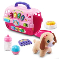VTech Learning Toys Kids Toys Dog Toys For Kids Letters Numbers Toys Music Toy #VTech