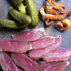 My first go at Duck Ham was a winner and I have since made the recipe over and over again. It's looks really impressive when served too! Cava Sparkling Wine, My Favorite Food, Favorite Recipes, Supper Club, Lchf, Ham, The Cure, Cooking Recipes, Vegetables