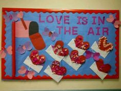 February Library Bulletin Board Ideas | ... Air Bulletin Board Idea » Love  God