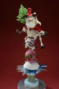 Stéphane Klein Santa Claus en sucre