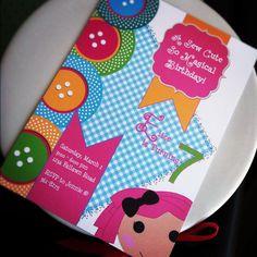Lalaloopsy Inspired Girls Birthday Party by GoBrandYourself, $7.50