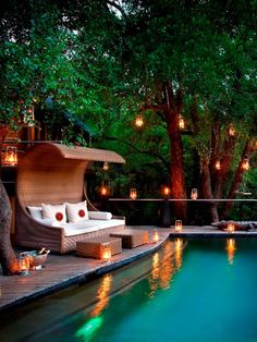 Spectacular Secluded Pools
