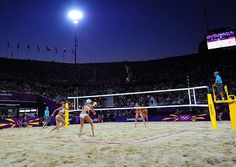 Misty May-Treanor and Kerri Walsh won their third consecutive gold medal in beach volleyball on Wednesday, getting past their American counterparts Jennifer Kessy and April Ross, surprise winners over Brazil.  #london2012