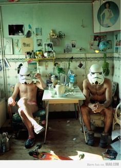 The Secret Life of Stormtroopers
