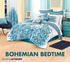 Trying to amp up the color in your bedroom? Consider it done. Dream Rooms, Dream Bedroom, Girls Bedroom, Home Bedroom, Bedroom Decor, Master Bedroom, Bedroom Ideas, Comforter, Bedding Sets