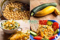 Cantaloupe, Zucchini, Fruit, Vegetables, Cooking, Food, Bulgur, Kitchen, Essen