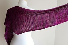 Ravelry: Totally Triangular Scarf pattern by Michelle Krause