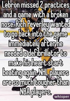 12 Hockey Confessions Discovered on Whisper