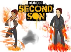 Infamous Second Son Infamous Second Son, Sons, My Son, Boys, Children, Clam