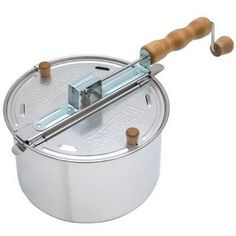 Whirley-Pop Stovetop Popcorn Popper. I like to know what is in my popcorn!
