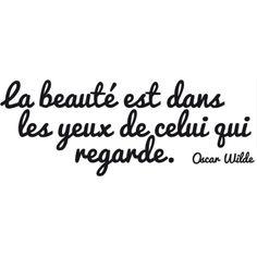 Sticker citation Oscar Wilde Plus