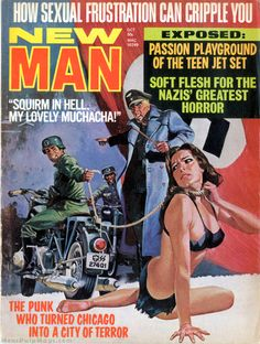 NEW MAN, October 1971. Art by Vicente Segrelles. Via the Men's Adventure Magazines Facebook Group -> https://www.facebook.com/groups/187984097012/