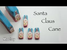 Santa Claus Millefiori cane - Polymer clay tutorial - YouTube