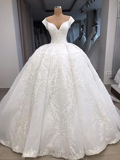 Vintage Luxurious Lace Beaded 2019 African Dubai Wedding Dresses Sweetheart Ball Gown Bridal Dresses Sexy Wedding Gowns - New Ideas Best Wedding Dresses 2017, Dubai Wedding Dress, Wedding Dress Mermaid Lace, Sweetheart Wedding Dress, Gown Wedding, Fall Wedding, Wedding Dress Organza, Modest Wedding, Wedding Dress Styles