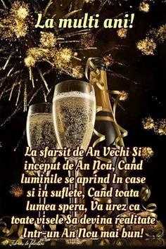 Felicitari de anul nou 2019 - La mulți ani! Happy New Year Gif, Happy New Year Photo, Happy New Year Images, New Year Photos, Happy Birthday Pictures, Happy Birthday Fun, An Nou Fericit, Winter Scenery, Diy Wall Art