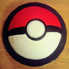 Pokeball cake by The Caking Fairy. Pokeball Cake, Celebration Cakes, Fairy, Home Appliances, Shower Cakes, House Appliances, Appliances, Holiday Cakes, Angel