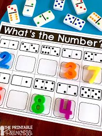 Numbers to 10 Activities for Little Learners Click through to find a Numbers to 10 Assessment FREEBIE and activities that are just perfect for Kindergarten [. Kindergarten Math Activities, Numbers Kindergarten, Numbers Preschool, Math Numbers, Teaching Math, Subitizing Activities, Pre K Activities, Decomposing Numbers, Back To School Activities Ks1